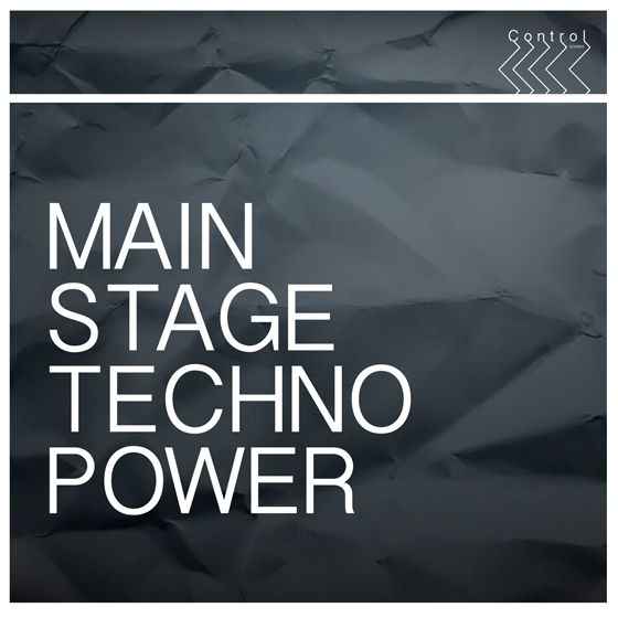 Control Sounds Main Stage Techno Power WAV-AUDIOSTRiKE